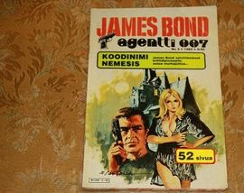 James Bond agentti 007,Koodinimi Nemesis. N:o 3/1983.