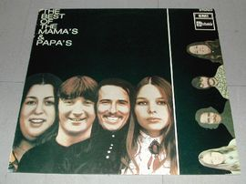 The best of the Mama`s & Papa`s . Emi records.
