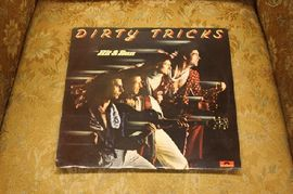 Dirty tricks - Hit and run,  2383 446, Good Earth Productions 1977