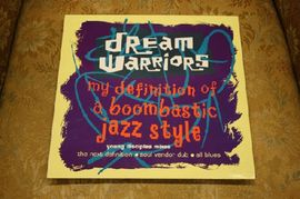 Dream warriors - My definition of a boombastic jazz style, 614159, Island Records 1990 (Maxi single)