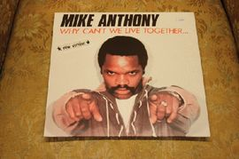 Mike Anthony - Why can't we live together, 600 535,  Cash Records 1982