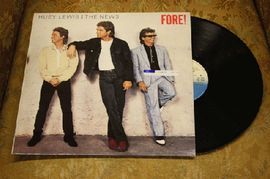 Huey Lewis and The News - Fore!, CDL 1534, Chrysalis Records 1986