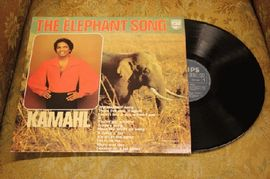 Kamahl - The Elephant song, 6357 029, Philips 1976