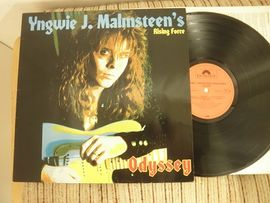 Yngwie J. Malmsteen´s rising force , Odyssey . Polydor records 1988.