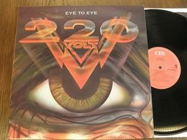 220 VOLT , Eye to eye. CBS records 1988.