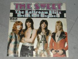 The Sweet . The Ballroom blitz . / Rock & roll Disgrace . RCA 74-16 349