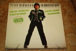 Cliff Richard - 18 greatest hits. EMI records.