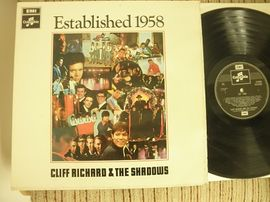 Cliff Richard & The Shadows , Established 1958 . Emi records 1968.