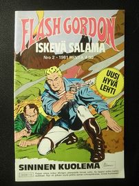 Flash Gordon , Iskevä salama . Nro.  2 / 1981