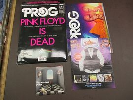 Prog magazine october 2014  + prog cd  The missing piece .