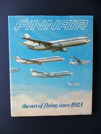 John Wegg , Finnair the art of flying since 1923 . Kirja painettu 1983 .