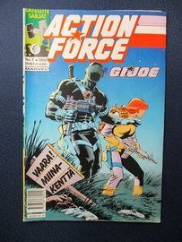 G. I. Joe Action Force m  N.o 7 / 1989 .