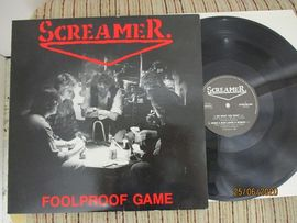 Screamer  Foolproof game .  Scream - 890 . Maxi single 45 rpm.
