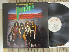 Jade , If you´re man enough . Roadrunner records 1985 .