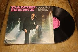 Daniel Boone - Beautiful Sunday, PELS 525, Pennyfarthing Records 1971