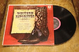 Country and western favorites, SL-6555, Capitol Records