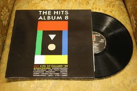 The Hits album 8, various artists, HITS 8, BMG Records 1988 (tupla)