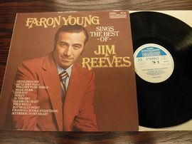 Jim Reeves , Faron young sings the best of . Contour records 1975