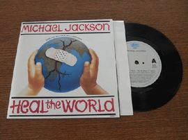 Michael Jackson - Heal the world, 658488 7, Epic1991