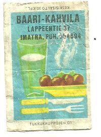 Kahvila Imatra