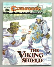 Commando for action and adventure .The Viking shield No. 3342.
