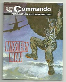 Commando for action and adventure , Mystery man . No. 3276.