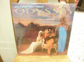 Odyssey , Hollywood party tonight .  RCA records .Avaamaton muoveissa .